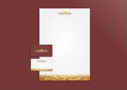 Grão em Grão Alimentos da Terra - Papel Timbrado e Cartão de Visitas