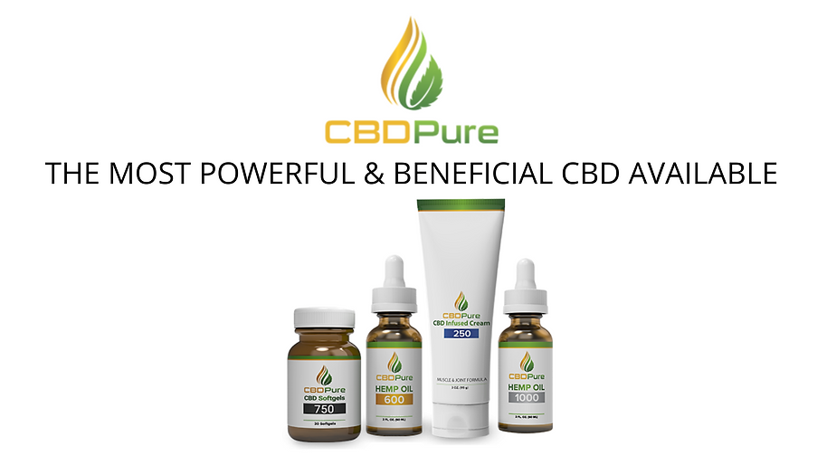 THE MOST POWERFUL & BENEFICIAL CBD AVAIL