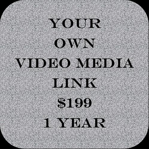 Video Media Link 1 Year