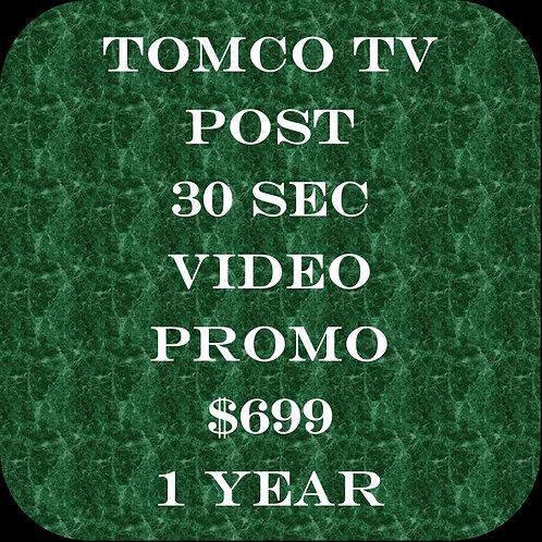 Tomco TV Promo 1 Year