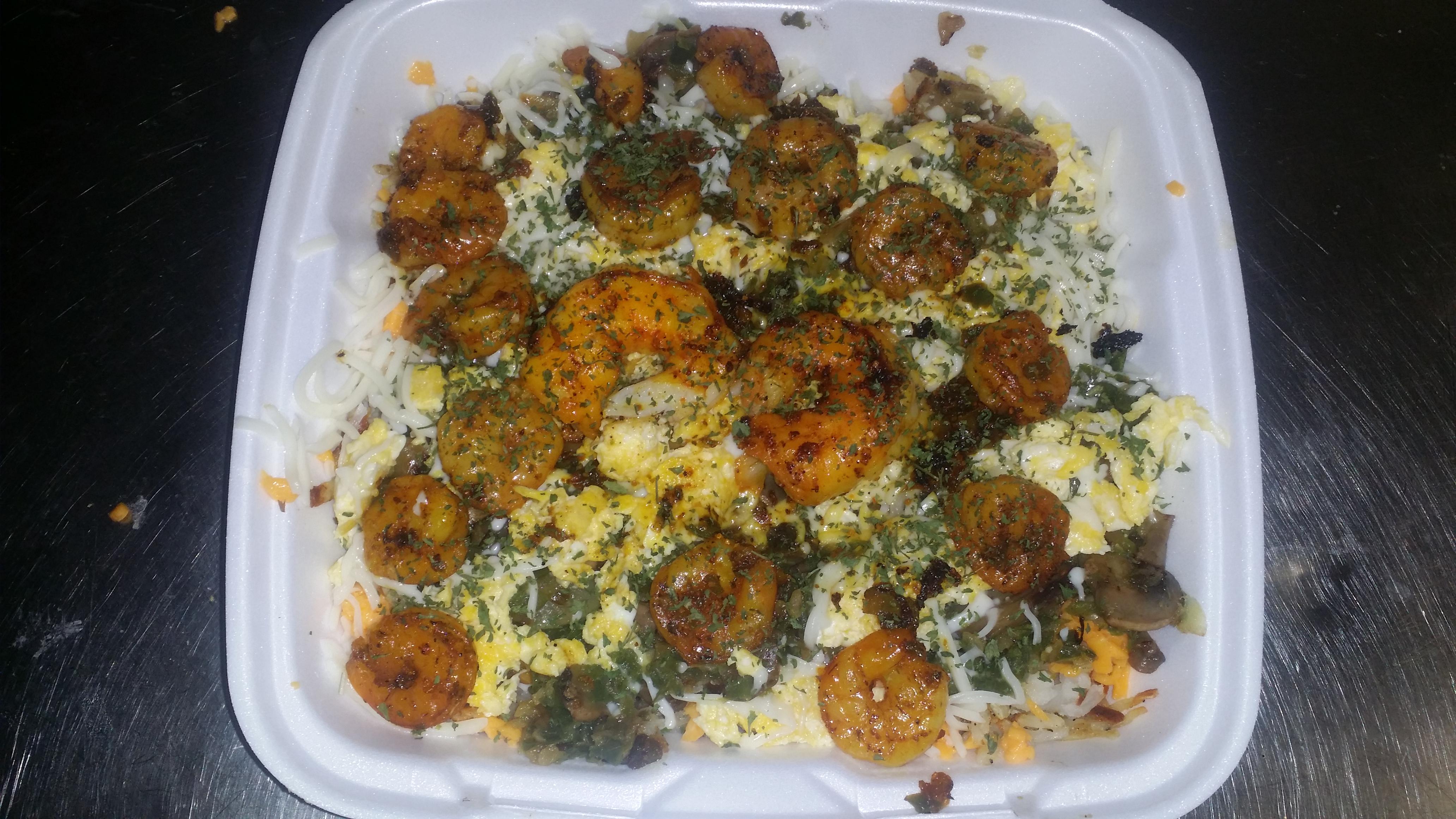 Shrimp & Eggs
