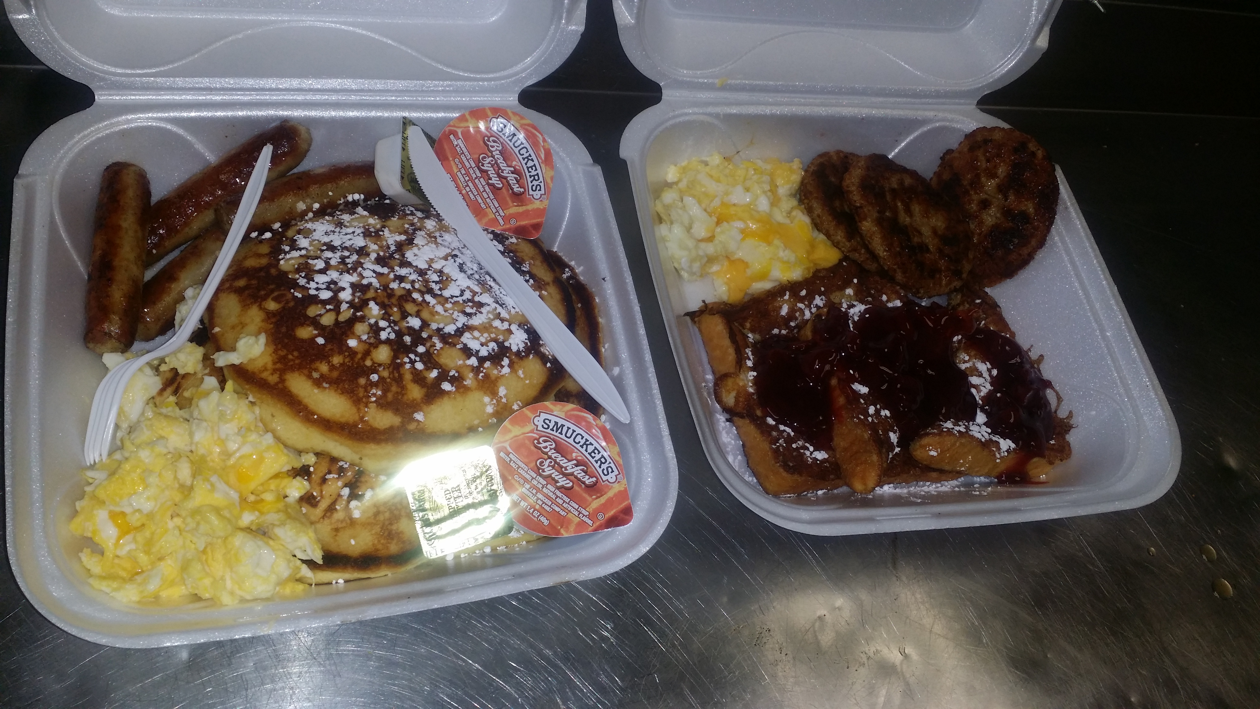 Pancake or French Toast Meal