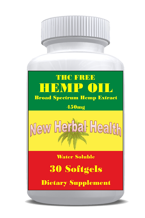 HEMP OIL 30 SOFTGELS