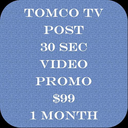 Tomco TV Post 30sec Video Promo