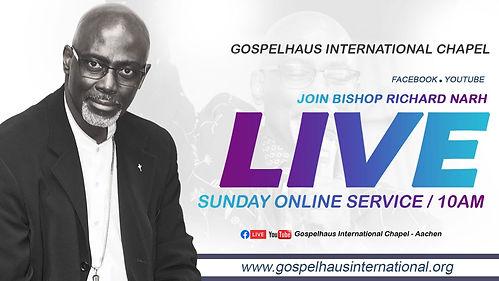 Gospelhaus - Live gathering & Livestream