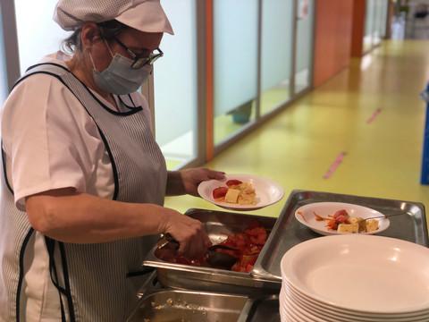 ¡Cómo nos gusta nuestro servicio de comedor!