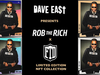 Rob the Rich x From the Dirt Collab NFTs - Studio time and Party with Dave East