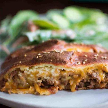 Keto Beef Stromboli