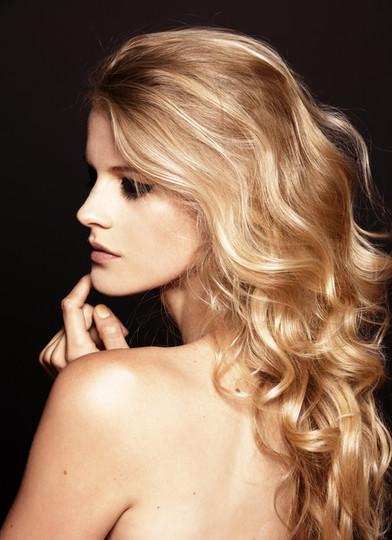 De beaux cheveux