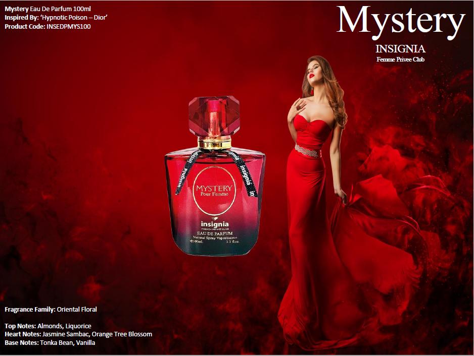 Mystery 100ml Eau De Parfum
