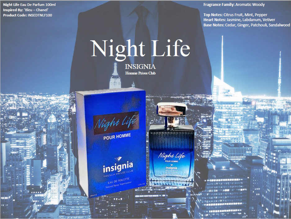 Night Life 100ml Eau De Toilette