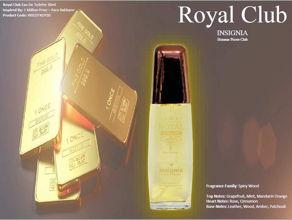 Royal Club 30ml Eau De Toilette