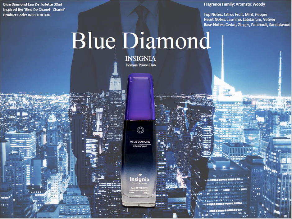 Blue Diamond 30ml Eau De Toilette