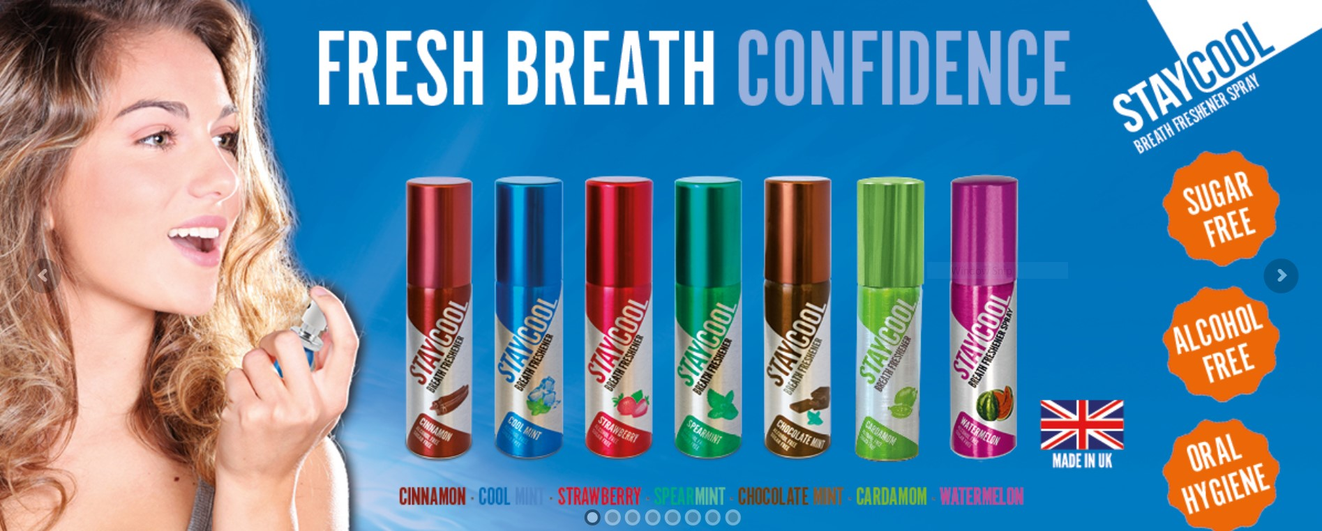 STAYCOOL Breath Freshener Single Cans