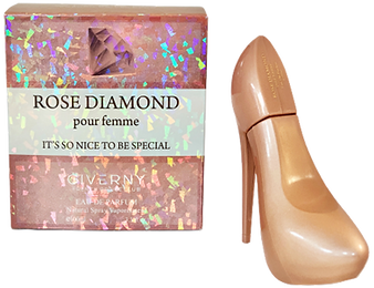 Givenry Shoe Bottle rose diamond.png