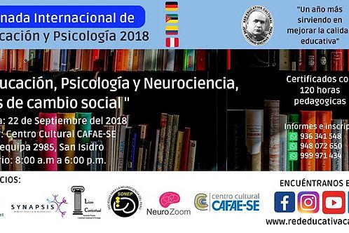 I Jornada Internacional de Educación y Psicología 2018