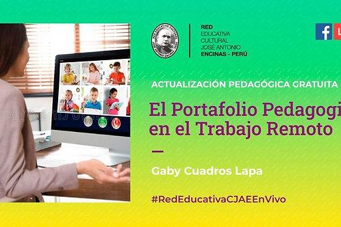 Actualización Pedagógica Gratuita: El Portafolio Pedagógico en el Trabajo Remoto