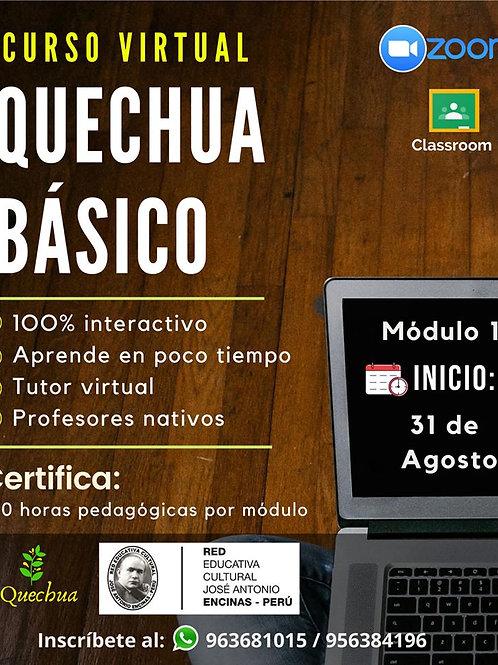 CURSO VIRTUAL: QUECHUA BÁSICO