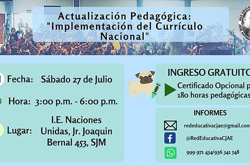 Implementación del Currículo Nacional