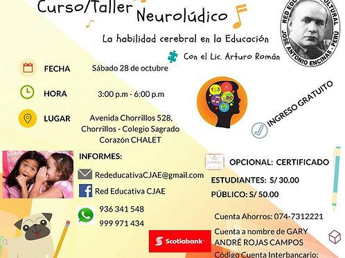 CURSO TALLER NEUROLÚDICA