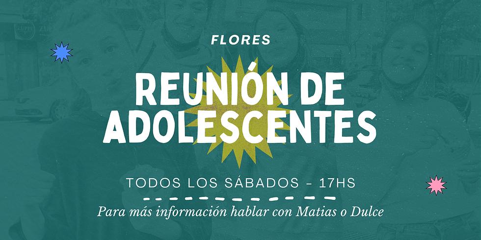 Adolescentes Flores - 1/05