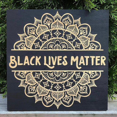 Black Lives Matter Mandala
