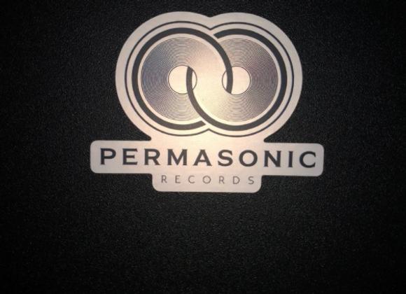Permasonic Records Sticker