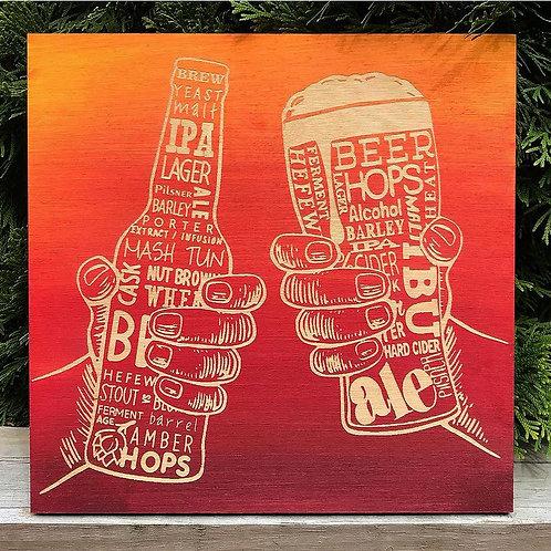 Cheers to Beer Engraving
