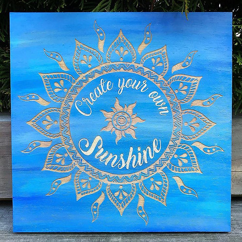 Create Your Own Sunshine Sign
