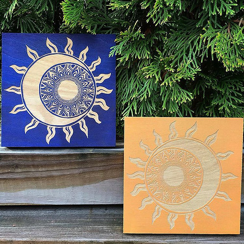 Sun and Moon Day and Night Panel Set