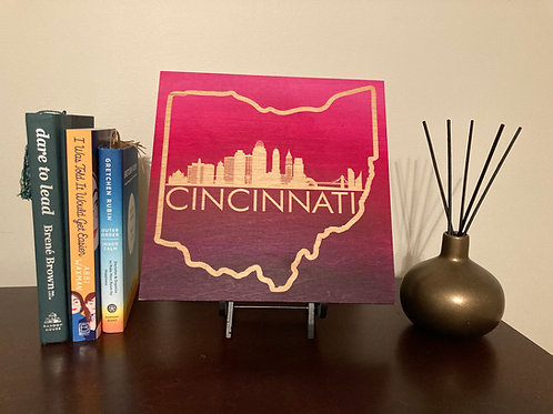Cincinnati Ohio Engraving