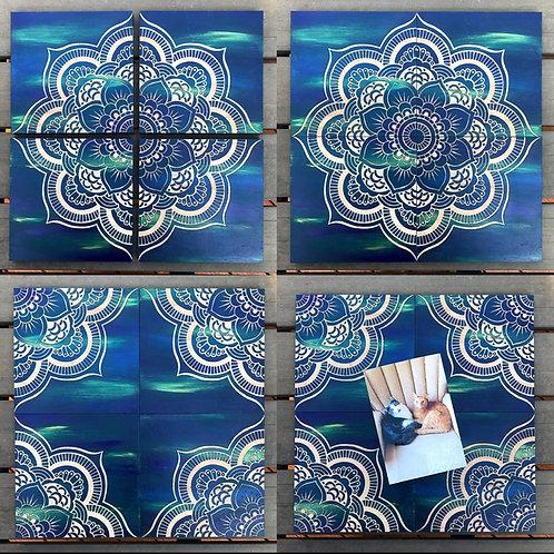 Mandala Trivets - 4 piece