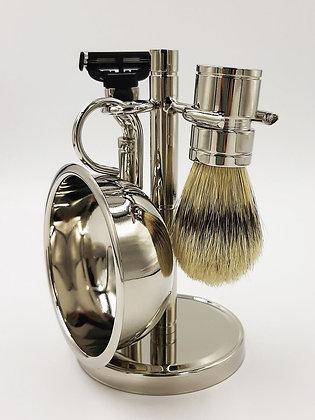 Набор для бритья Topaxen (Хром)