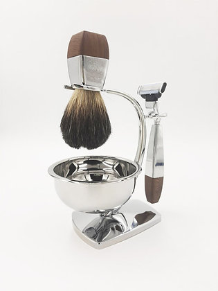 Набор для бритья Topaxen (Махагон)