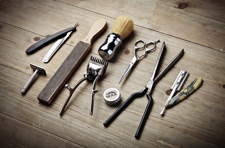Barber utensils