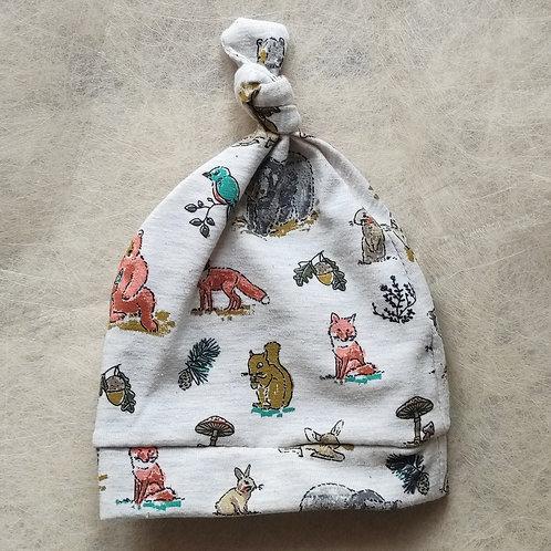 Cappellino _ animali del bosco