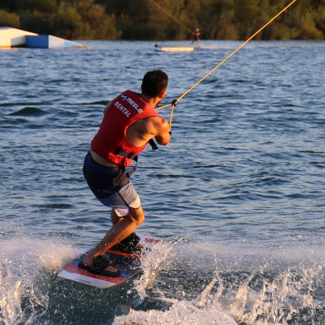 for kite- and wakeboarding