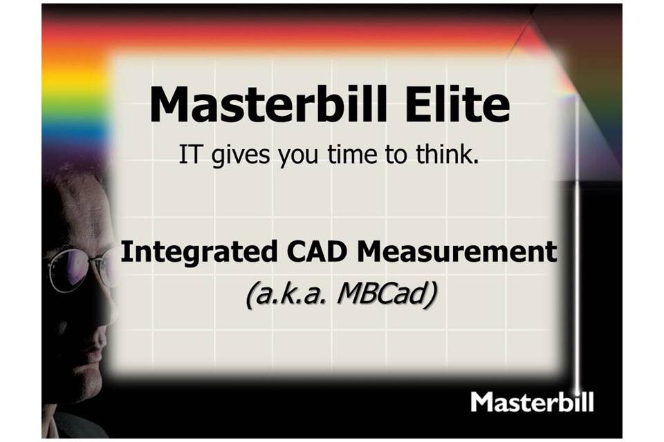 Masterbill Elite MBCad