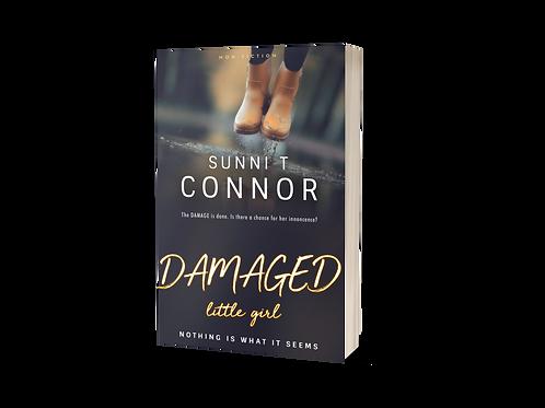 DAMAGED little girl Paperback Book