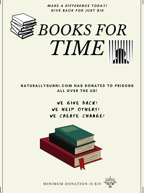 "Books For ""TIME"" Donation"
