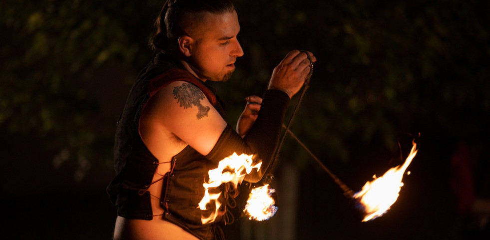 Andy Fire Poi