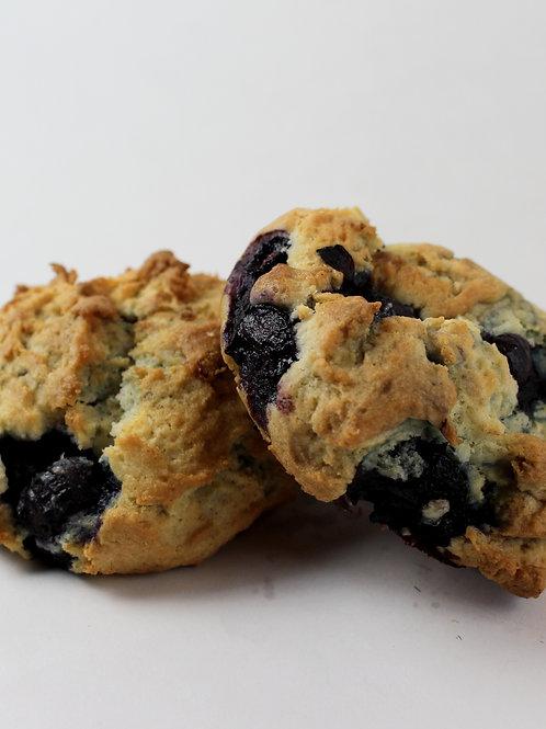 Biscuit aux bleuets