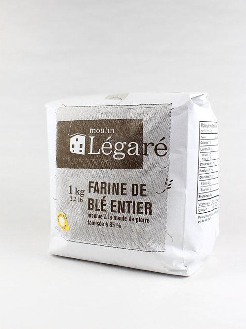 Farine de blé entier à 85%