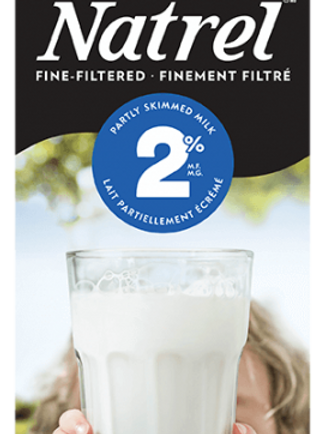 Lait Finement filtré 2 %