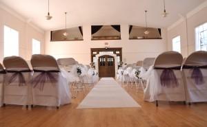 Ballroom White Wedding