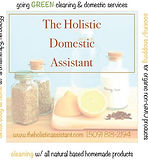 Holistic Domestic Assistant square logo.