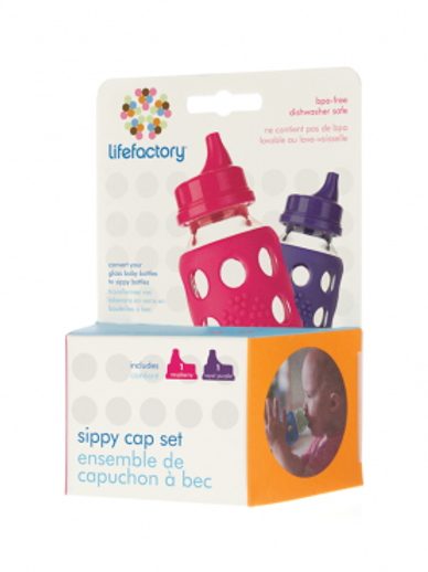 Lifefactory Sippy Cap Set 2-pack