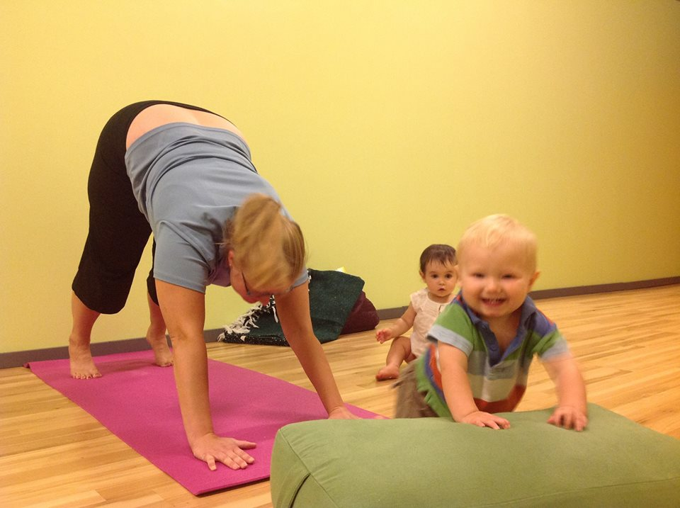 Downward Dog with Babies
