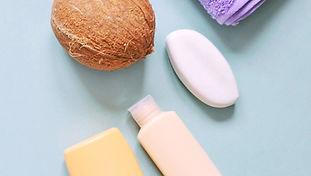 Noix de coco Produits de beauté