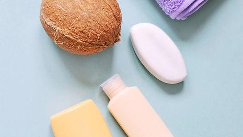 Productos de coco de belleza